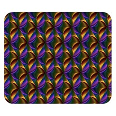 Seamless Prismatic Line Art Pattern Double Sided Flano Blanket (Small)