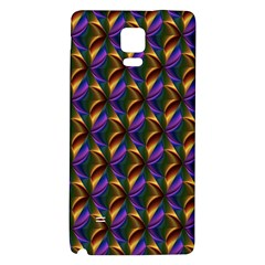 Seamless Prismatic Line Art Pattern Galaxy Note 4 Back Case