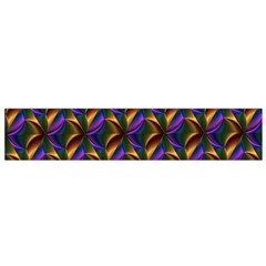 Seamless Prismatic Line Art Pattern Flano Scarf (small)