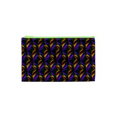 Seamless Prismatic Line Art Pattern Cosmetic Bag (XS)