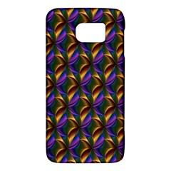 Seamless Prismatic Line Art Pattern Galaxy S6