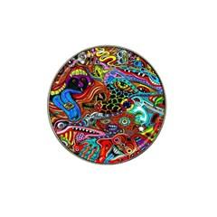 Vector Art Pattern Hat Clip Ball Marker