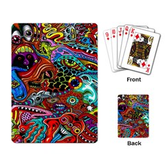 Vector Art Pattern Playing Card