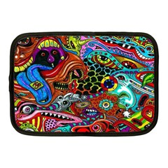 Vector Art Pattern Netbook Case (medium)