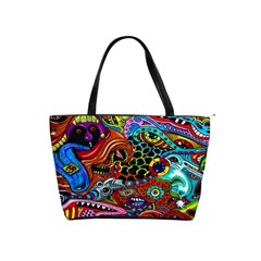 Vector Art Pattern Shoulder Handbags