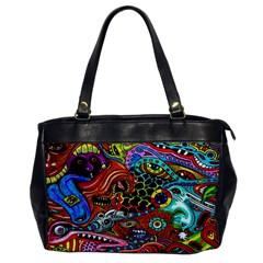 Vector Art Pattern Office Handbags