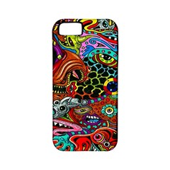 Vector Art Pattern Apple Iphone 5 Classic Hardshell Case (pc+silicone)