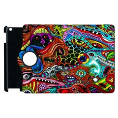 Vector Art Pattern Apple Ipad 3/4 Flip 360 Case