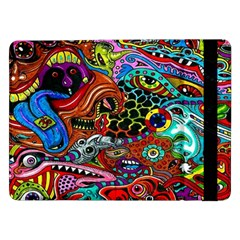 Vector Art Pattern Samsung Galaxy Tab Pro 12 2  Flip Case