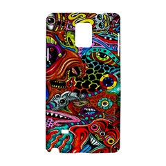 Vector Art Pattern Samsung Galaxy Note 4 Hardshell Case