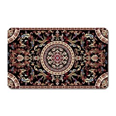 Vectorized Traditional Rug Style Of Traditional Patterns Magnet (Rectangular)