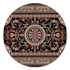Vectorized Traditional Rug Style Of Traditional Patterns Magnet 5  (round)