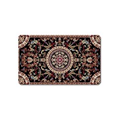 Vectorized Traditional Rug Style Of Traditional Patterns Magnet (Name Card)