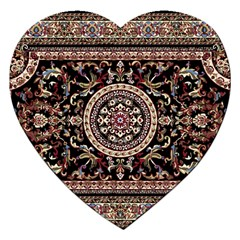 Vectorized Traditional Rug Style Of Traditional Patterns Jigsaw Puzzle (Heart)