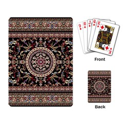 Vectorized Traditional Rug Style Of Traditional Patterns Playing Card