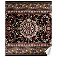 Vectorized Traditional Rug Style Of Traditional Patterns Canvas 8  X 10