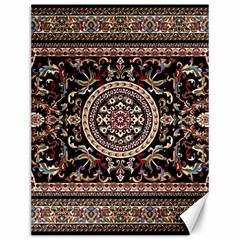 Vectorized Traditional Rug Style Of Traditional Patterns Canvas 12  X 16