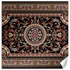 Vectorized Traditional Rug Style Of Traditional Patterns Canvas 16  X 16