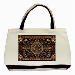 Vectorized Traditional Rug Style Of Traditional Patterns Basic Tote Bag (two Sides)