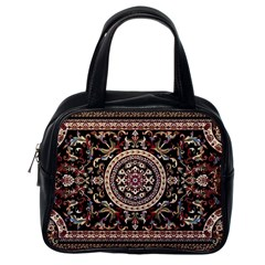 Vectorized Traditional Rug Style Of Traditional Patterns Classic Handbags (one Side)