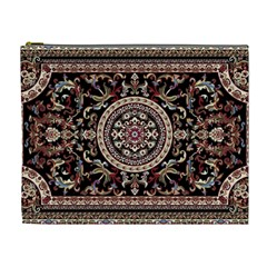 Vectorized Traditional Rug Style Of Traditional Patterns Cosmetic Bag (xl)