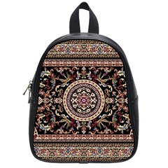Vectorized Traditional Rug Style Of Traditional Patterns School Bags (small)