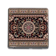 Vectorized Traditional Rug Style Of Traditional Patterns Memory Card Reader (square)