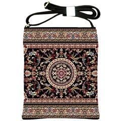 Vectorized Traditional Rug Style Of Traditional Patterns Shoulder Sling Bags