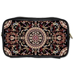 Vectorized Traditional Rug Style Of Traditional Patterns Toiletries Bags 2 Side