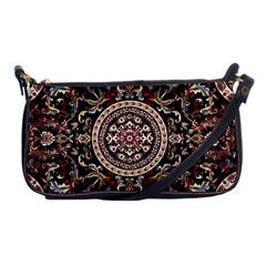 Vectorized Traditional Rug Style Of Traditional Patterns Shoulder Clutch Bags
