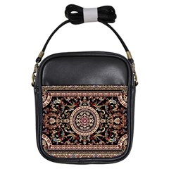 Vectorized Traditional Rug Style Of Traditional Patterns Girls Sling Bags