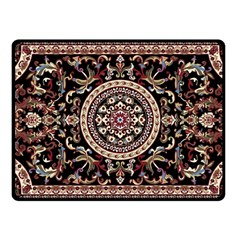 Vectorized Traditional Rug Style Of Traditional Patterns Fleece Blanket (Small)