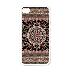Vectorized Traditional Rug Style Of Traditional Patterns Apple Iphone 4 Case (white)