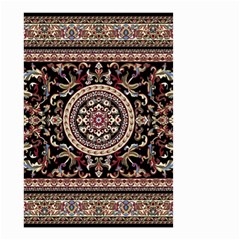 Vectorized Traditional Rug Style Of Traditional Patterns Small Garden Flag (Two Sides)