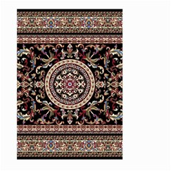 Vectorized Traditional Rug Style Of Traditional Patterns Large Garden Flag (Two Sides)