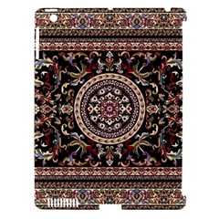 Vectorized Traditional Rug Style Of Traditional Patterns Apple Ipad 3/4 Hardshell Case (compatible With Smart Cover)