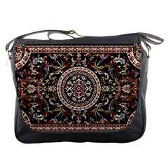 Vectorized Traditional Rug Style Of Traditional Patterns Messenger Bags