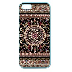 Vectorized Traditional Rug Style Of Traditional Patterns Apple Seamless iPhone 5 Case (Color)
