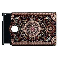 Vectorized Traditional Rug Style Of Traditional Patterns Apple Ipad 2 Flip 360 Case