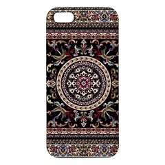 Vectorized Traditional Rug Style Of Traditional Patterns Apple Iphone 5 Premium Hardshell Case
