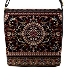 Vectorized Traditional Rug Style Of Traditional Patterns Flap Messenger Bag (s)