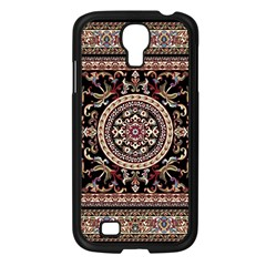 Vectorized Traditional Rug Style Of Traditional Patterns Samsung Galaxy S4 I9500/ I9505 Case (black)