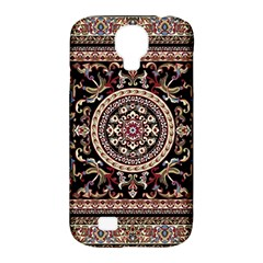 Vectorized Traditional Rug Style Of Traditional Patterns Samsung Galaxy S4 Classic Hardshell Case (pc+silicone)