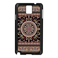 Vectorized Traditional Rug Style Of Traditional Patterns Samsung Galaxy Note 3 N9005 Case (black)