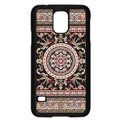 Vectorized Traditional Rug Style Of Traditional Patterns Samsung Galaxy S5 Case (black)