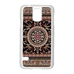 Vectorized Traditional Rug Style Of Traditional Patterns Samsung Galaxy S5 Case (white)
