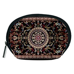 Vectorized Traditional Rug Style Of Traditional Patterns Accessory Pouches (Medium)