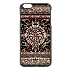 Vectorized Traditional Rug Style Of Traditional Patterns Apple iPhone 6 Plus/6S Plus Black Enamel Case