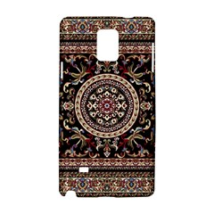 Vectorized Traditional Rug Style Of Traditional Patterns Samsung Galaxy Note 4 Hardshell Case