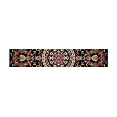 Vectorized Traditional Rug Style Of Traditional Patterns Flano Scarf (mini)